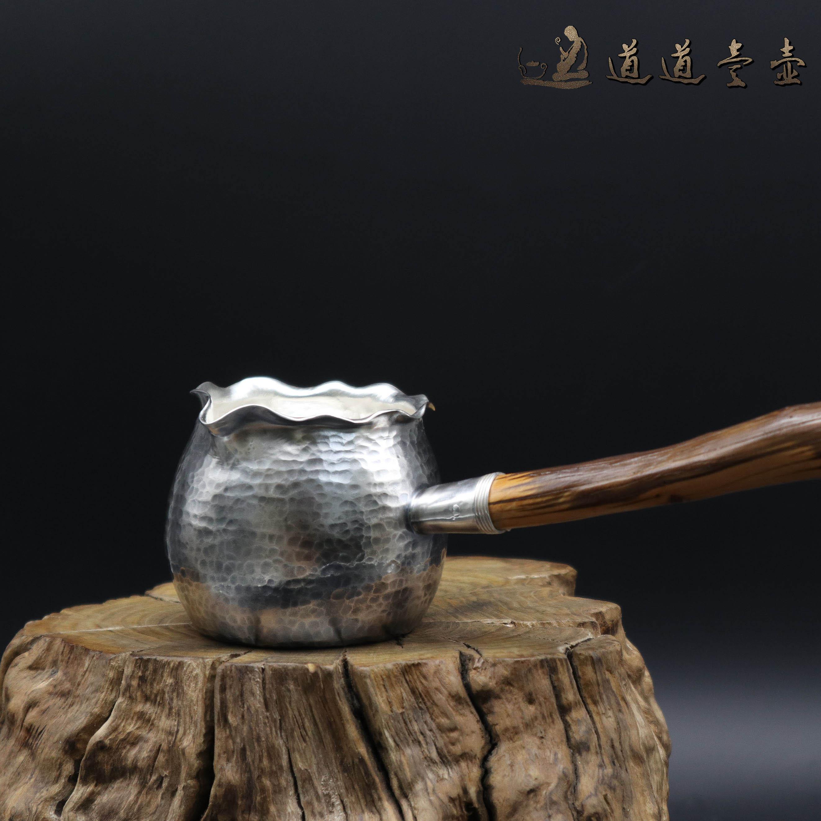 【钱袋】S999纯银手工 公道杯