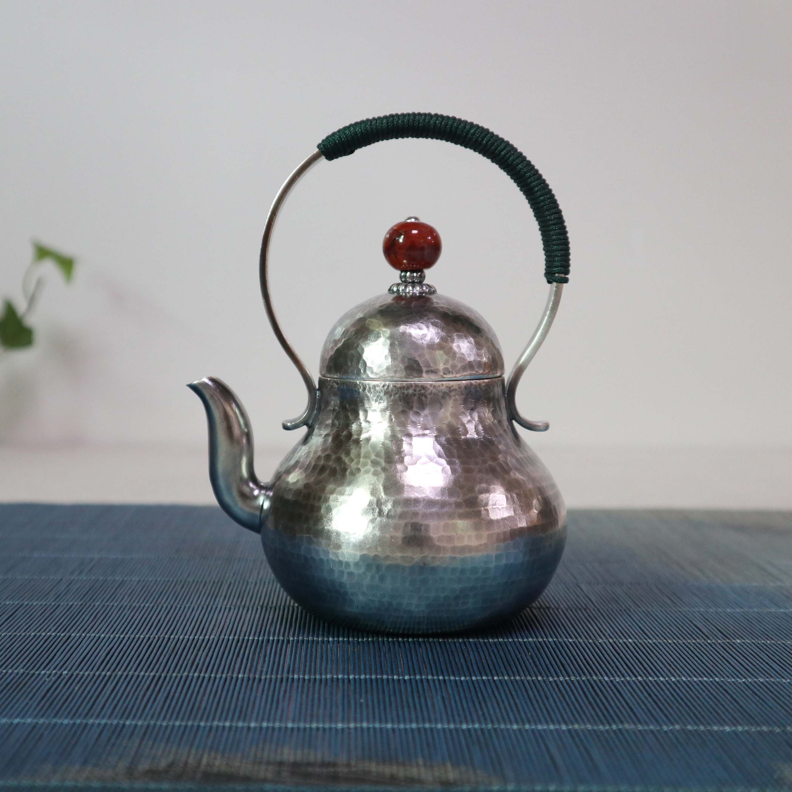 【思亭壶】S999纯银手工 茶壶