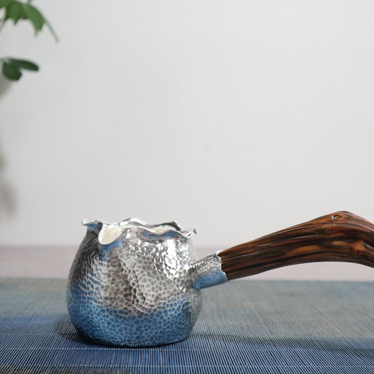 【福袋】S999纯银手工 公道杯